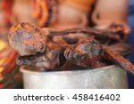 llama fetuses at witchdoctor... | Shutterstock . vector #458416402