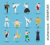 Asian Martial Arts Vector...