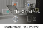 big data domain web page seo... | Shutterstock . vector #458490592