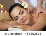 young beautiful woman having... | Shutterstock . vector #458503816