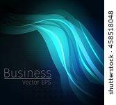 vector wavy abstract ... | Shutterstock .eps vector #458518048
