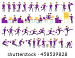 business solution. business...   Shutterstock . vector #458539828