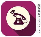 phone icon incoming call ...