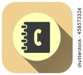 phone book vector icon  vector...