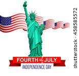 fourth of july poster....   Shutterstock .eps vector #458585572