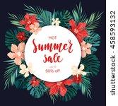 Summer Sale Concept....