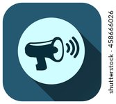 megaphone vector icon  sound...