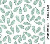floral vector seamless pattern... | Shutterstock .eps vector #458685535