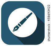 pen icon  vector logo for your...