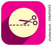 scissors vector icon  cut...