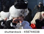 riehen  switzerland   feb 05 ... | Shutterstock . vector #458744038