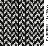 vector knitted geometrical... | Shutterstock .eps vector #458780806