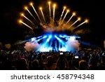 Dj concert festival with...