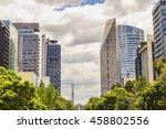 mexico city   mexico   circa... | Shutterstock . vector #458802556