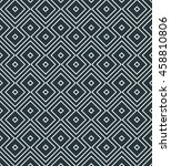 seamless striped monochrome... | Shutterstock .eps vector #458810806