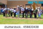 illustrative image of ground... | Shutterstock . vector #458833438