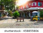 street in buzios  rio de...   Shutterstock . vector #458855806