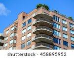 condo buildings in montreal | Shutterstock . vector #458895952