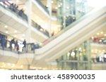 department store shopping mall... | Shutterstock . vector #458900035