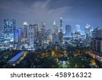 colorful night light at the...   Shutterstock . vector #458916322