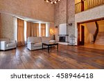living room with a beautiful... | Shutterstock . vector #458946418