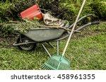 gardening tools and utensils... | Shutterstock . vector #458961355