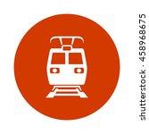 train icon | Shutterstock .eps vector #458968675