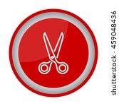 web line icon. scissors | Shutterstock .eps vector #459048436