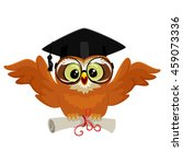 vector illustration of an owl... | Shutterstock .eps vector #459073336