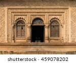 Ornamented Facade  Doors And...