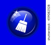 sweep icon. internet button on... | Shutterstock . vector #459082528