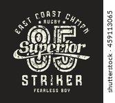 superior striker emblem in... | Shutterstock .eps vector #459113065
