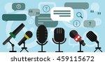 vector illustration of press... | Shutterstock .eps vector #459115672
