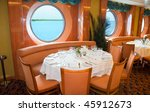 Restaurant On Board A Cruise...