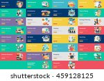 business banner concept design | Shutterstock .eps vector #459128125