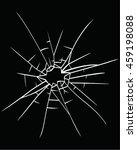 broken glass vector | Shutterstock .eps vector #459198088