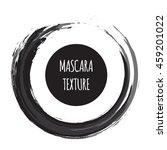 vector mascara grunge brush... | Shutterstock .eps vector #459201022