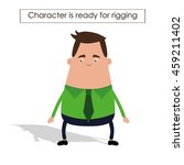 businessman character | Shutterstock .eps vector #459211402