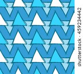 seamless pattern with hand... | Shutterstock .eps vector #459234442
