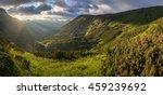 panoramic view of amazing...   Shutterstock . vector #459239692