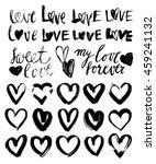 vector doodle hand drawn grunge ...   Shutterstock .eps vector #459241132