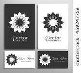 black and white mandala...   Shutterstock .eps vector #459247726