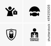 parental control symbols   Shutterstock .eps vector #459255205