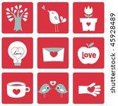 vector illustration of love...   Shutterstock .eps vector #45928489
