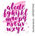 modern hand written calligraphy ...   Shutterstock .eps vector #459307342