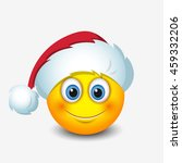 cute santa claus emoticon ... | Shutterstock .eps vector #459332206