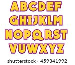 a to z alphabets to use for... | Shutterstock .eps vector #459341992