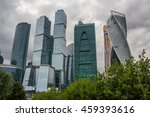 Постер, плакат: Skyscrapers of Moscow city