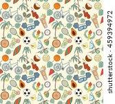 seamless sport rio 2016 pattern ... | Shutterstock .eps vector #459394972