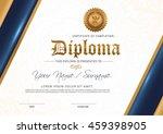 certificate to be elegant and... | Shutterstock .eps vector #459398905